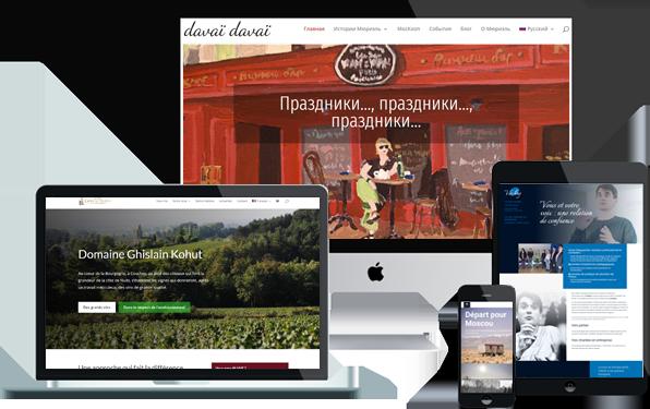 site internet, image sur mesure, wordpress responsive